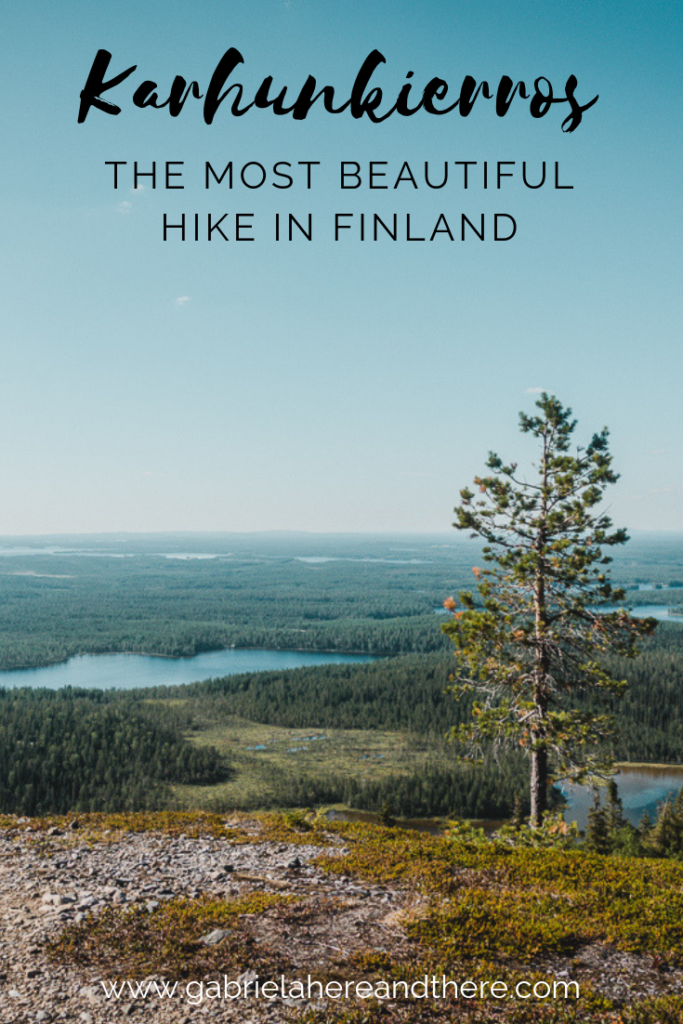 Karhunkierros - The Most Beautiful Hike in Finland