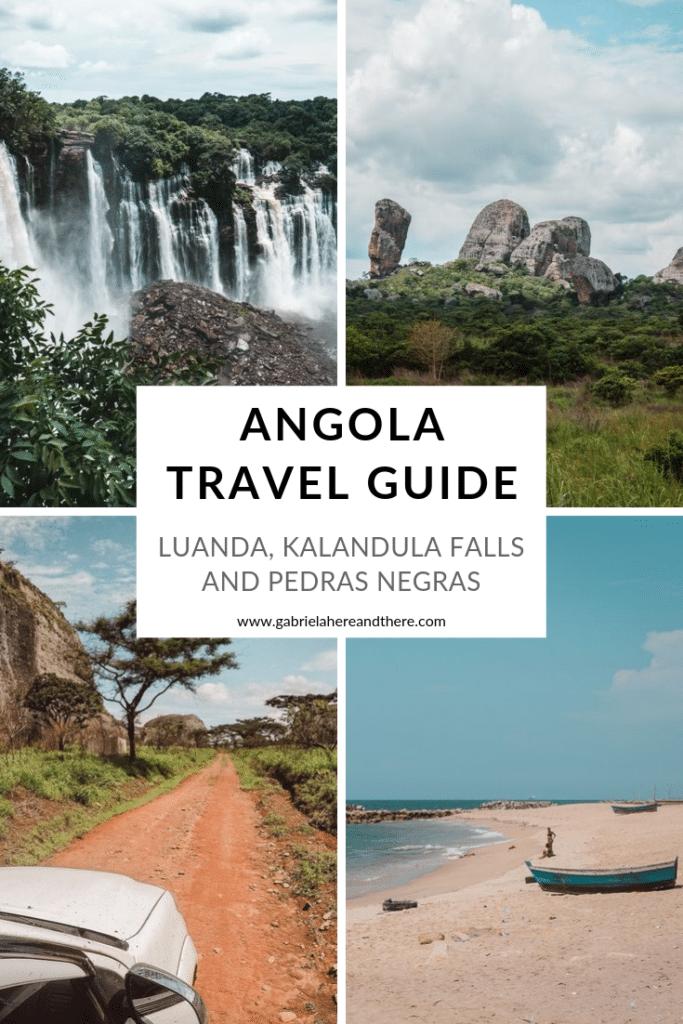 Angola Travel Guide to Luanda, Kalandula Falls and Pedras Negras