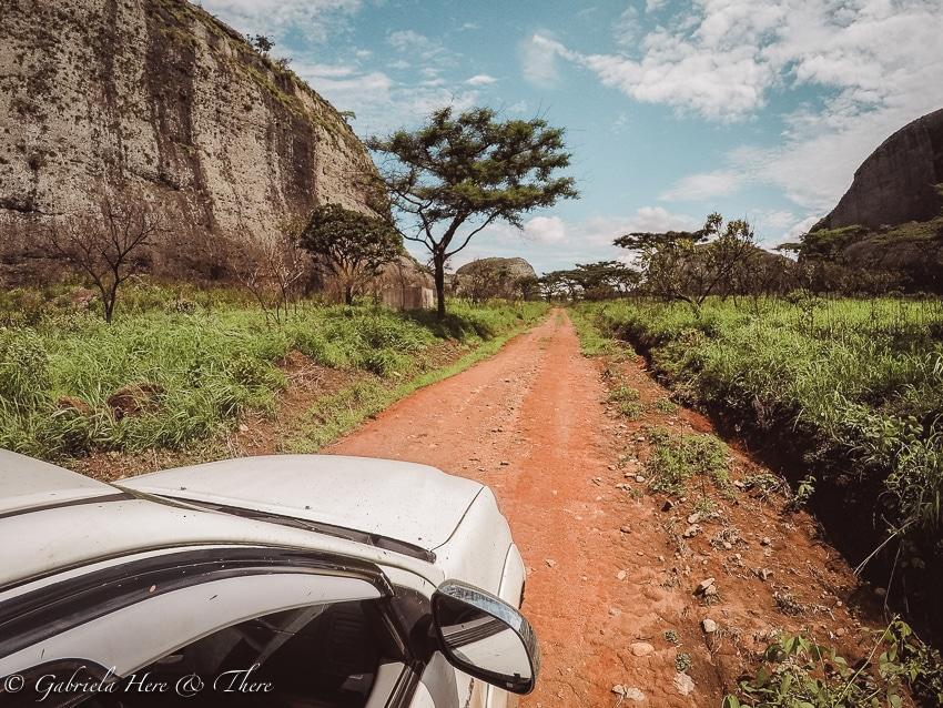 Pedras Negras, Angola