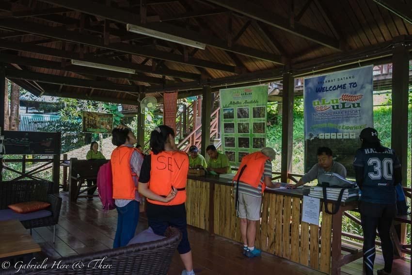 Registration in Ulu Temburong National Park