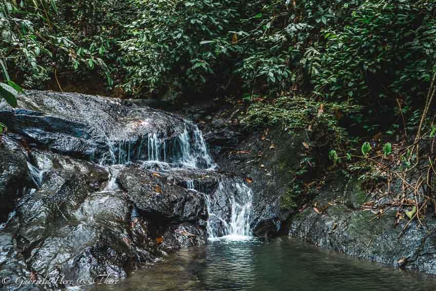 Waterfall in Ulu Temburong National Park